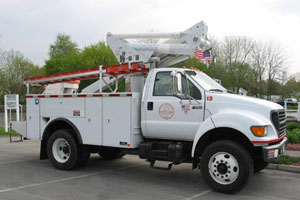 Electric Department Truck