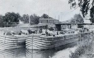 Erie Canal in Early Spencerport history